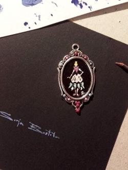 sonja brstilo mandala of desires acrylic miniature